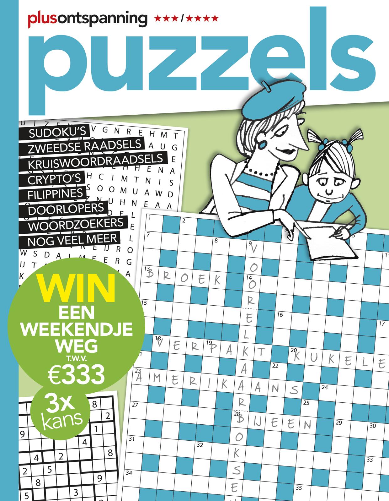 Plus Puzzels - Kortingsabonnement