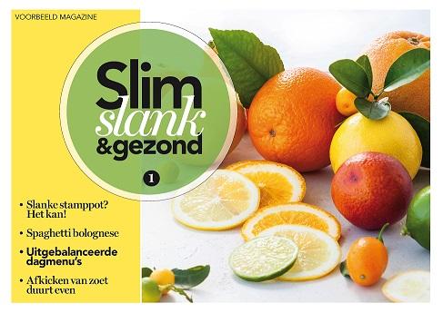 Slim- Slank- en Gezondprogramma - Abonnement van 13 nummers