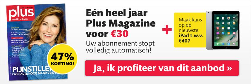 Tijdelijk aanbod Plus Magazine